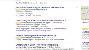 Google Adwords Anzeigenerweiterungen - Ein Mehrwert für Anzeigen und Nutzer