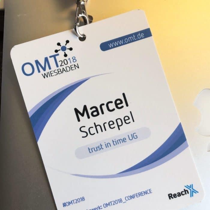 OMZT 2018 Teilnehmer Ausweis / Badge