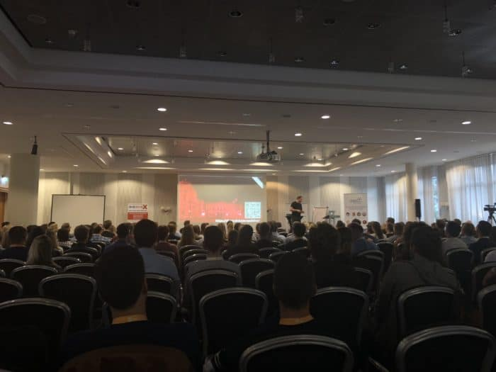 Karl Kratz Vortrag auf der OMT 2018 Konferenz